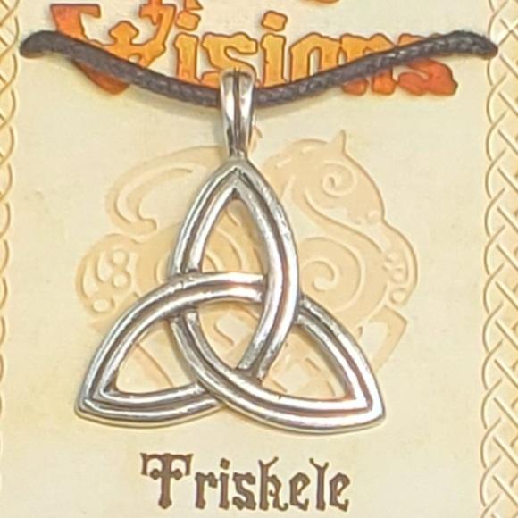 Triskele Pewter Amulet NWT